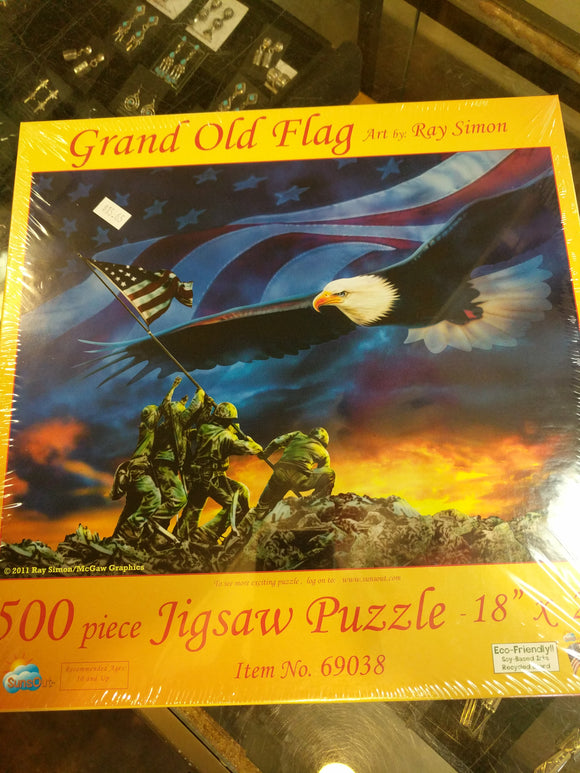 Grand Old Flag Puzzle
