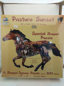 Pasture Sunset jigsaw puzzle