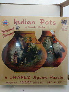 Indian Pots jigsaw puzzle