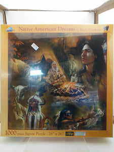 Native American Dreams Jigsaw Puzzle