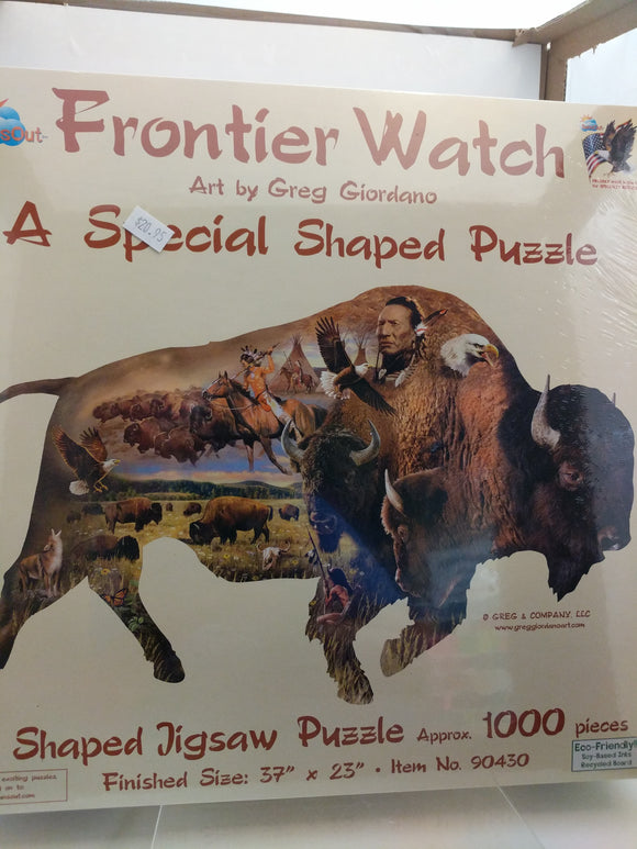 Frontier Watch Jigsaw Puzzle