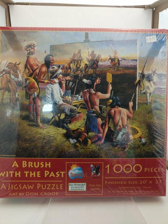 A Brush With The Past Jigsaw Puzzle