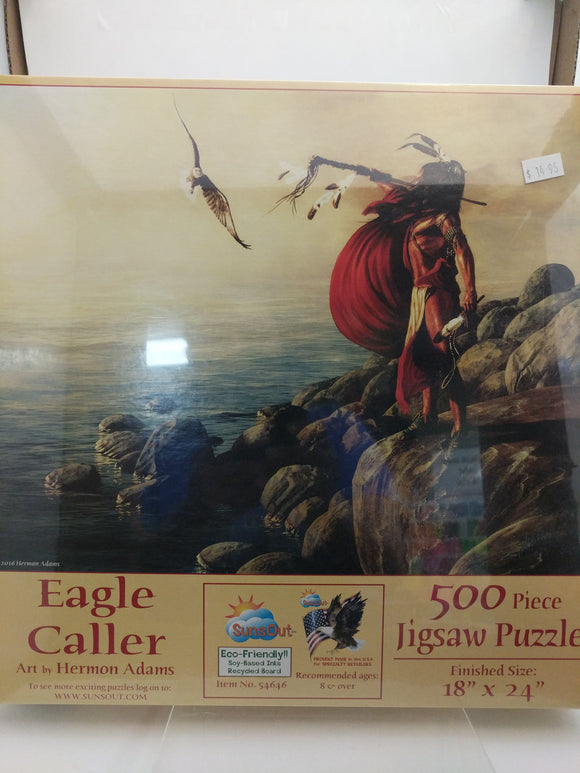 Eagle Caller Jigsaw Puzzle