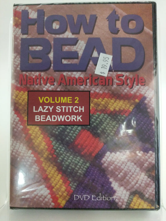 How to Bead Native Americans type vol.2 DVD