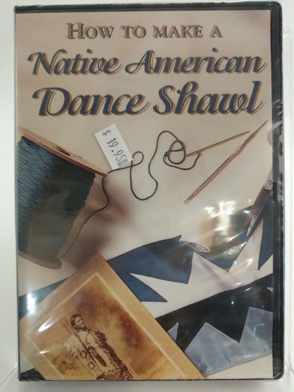 How to make a Native American Dance Shawl DVD