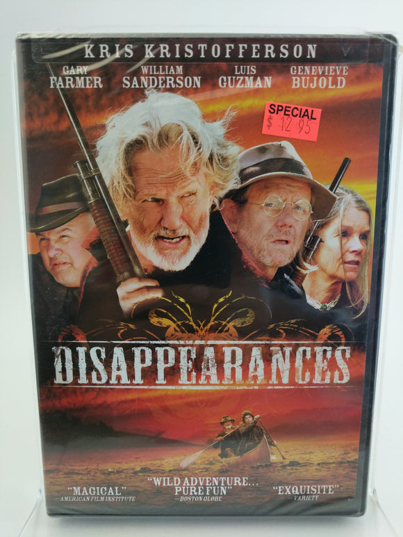 Disappearances DVD