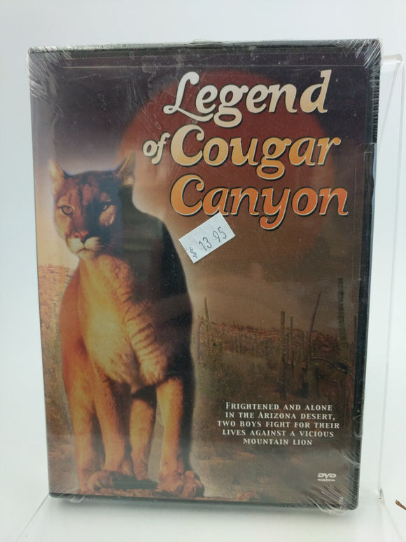 Legend of Cougar Canyon DVD