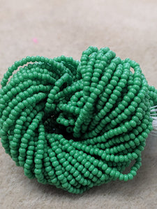 czech-bead-11-0-Green OP-218