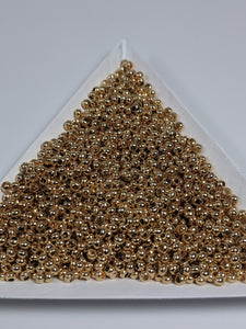 24 k Gold Seed Beads