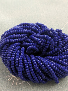 Czech Beads 8/0 Dark Blue OP 260