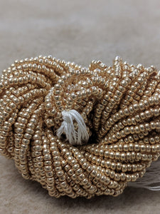 czech-bead-11-0-Light Gold Metallic-5MT