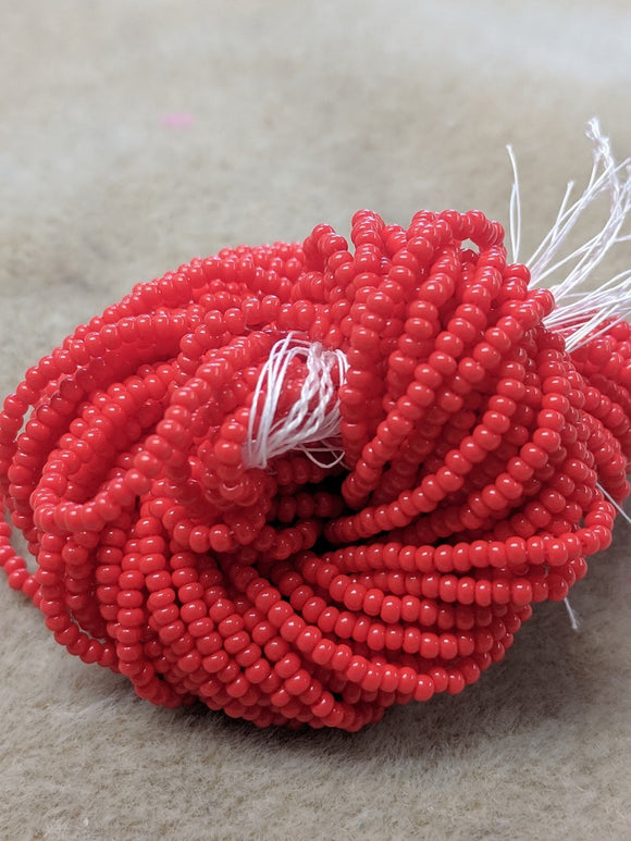 czech-bead-11-0-Light Red OP-75