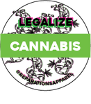 Legalize Cannabis Button
