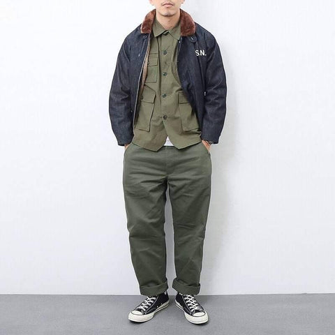 Look Militaire Deck Jacket