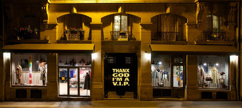 Thank God I am a VIP - La Boutique du Vintage