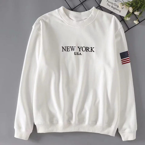 Sweat Vintage Femme New York