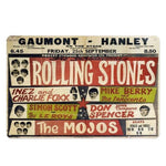Plaque Metal Vintage The Mojos