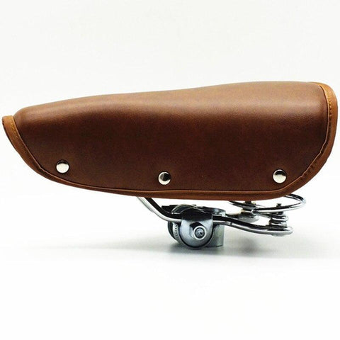 Selle Vélo Vintage Marron | La Boutique du Vintage