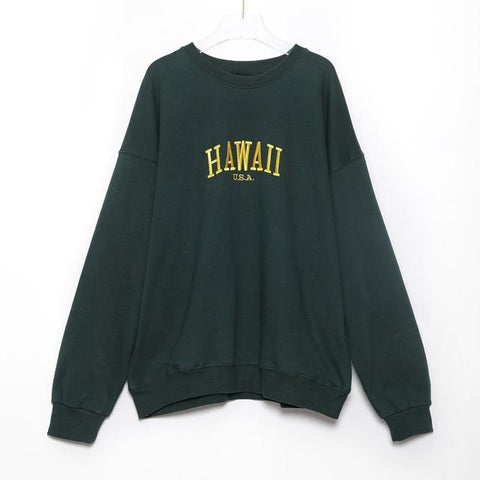 Sweat Vintage Femme Hawai | La Boutique du Vintage