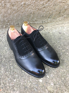 Classic Black Oxford Leather Shoes