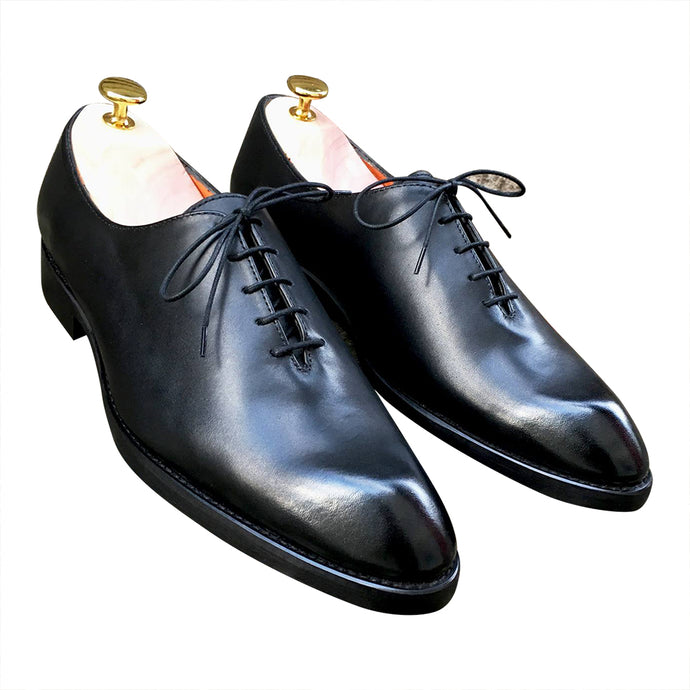 Wedding Oxford black tie shoes for men