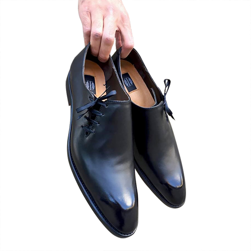 Oxford black shoes for men
