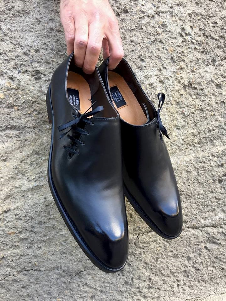 Black Classy Oxford Shoes