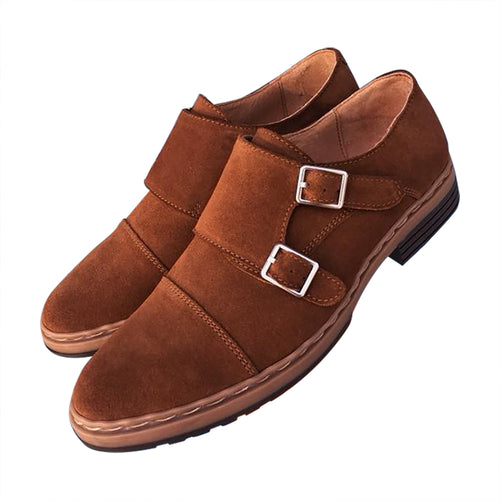 Double Monk comfortable casual shoes