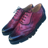 Comftorble leather men's shoes handcrafted