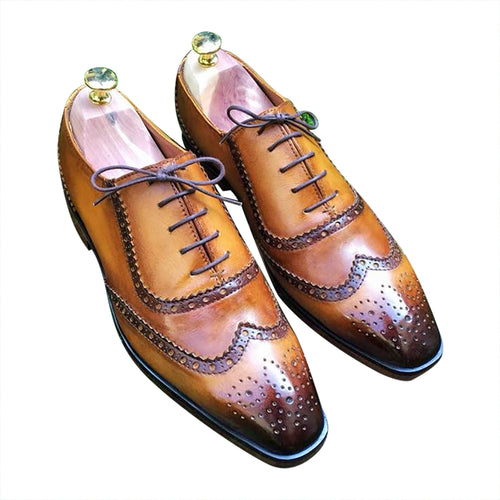 Browns shoes brogues classy for men
