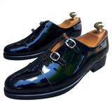 Wedding black shoes  loafers for men