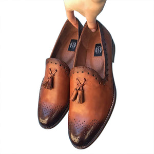 Hand painted Loafers for men