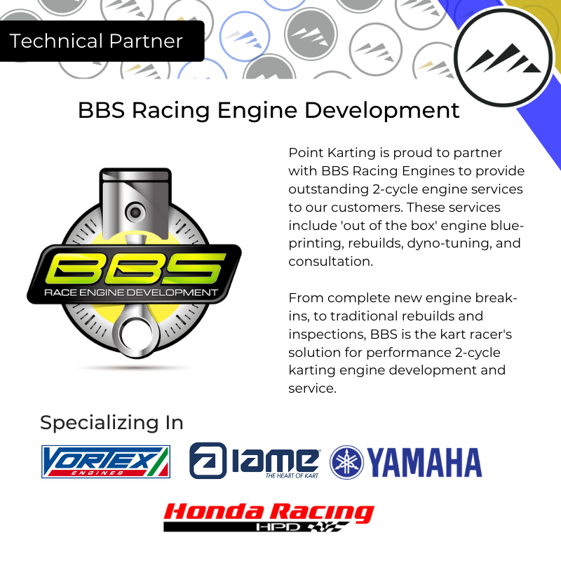 BBS Kart Racing Engines Technical Partner
