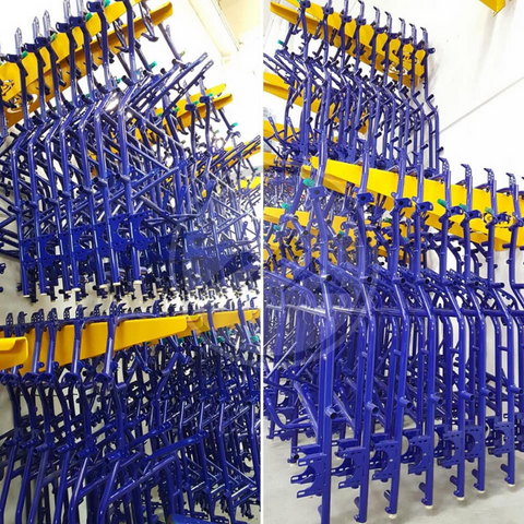 CKR Go Kart Manufacturing Chassis