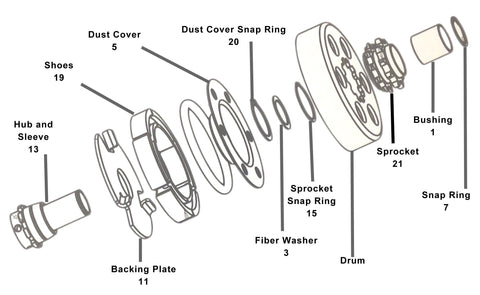 Max Torque Go Kart Clutch Diagram