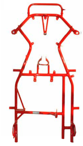 DR Tork IVS Chassis (Bare Frame) (4-Stroke) - Point Karting