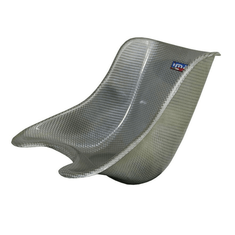 IMAF F6 Go Kart Racing Seat Silver Weave Seat