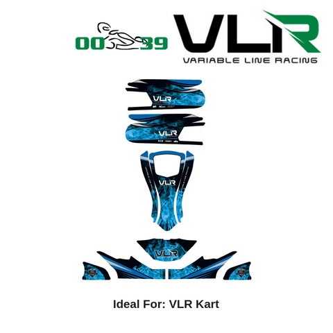 VLR Emerald Graphics Kit - Point Karting