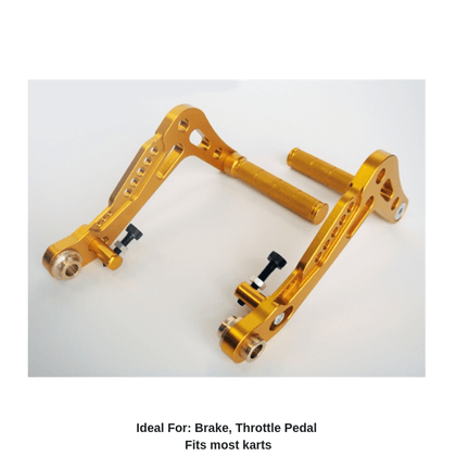 Swift Aluminum Pedal Set