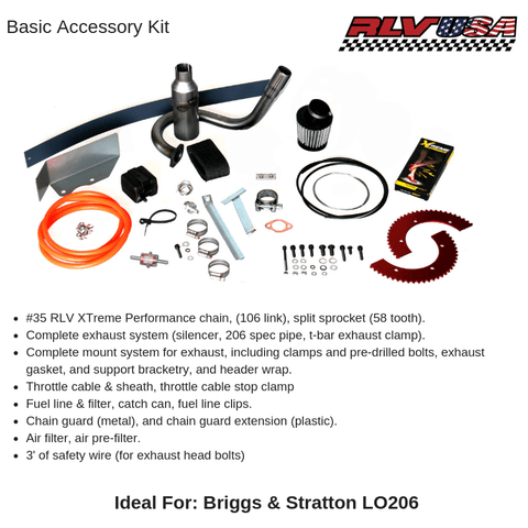 Briggs & Stratton LO206 Accessory Kits - Point Karting