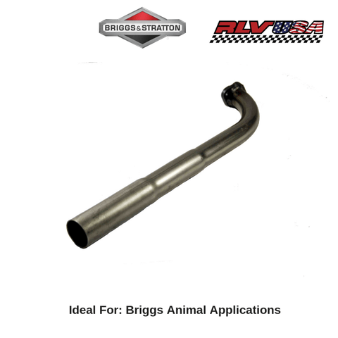 "Briggs & Stratton Animal ""Champ"" Exhaust Pipe - Point Karting"