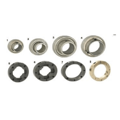 Rear Axle Bearings and Cassettes Racing Go Kart CKR or CRG
