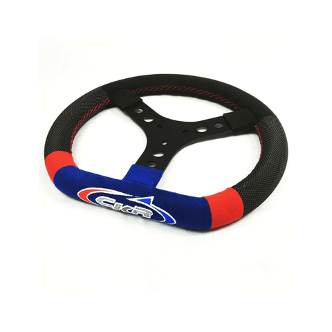 CKR Kart Steering Wheel Leather 345mm CRG CKR Racing Kart