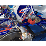 CKR Racing Go Kart Fuel tank and Floortray Detail