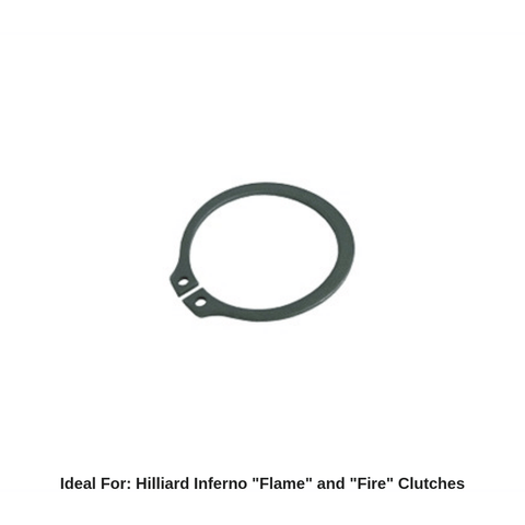 Hilliard Inferno Flame / Fire Clutch Cover Snap Ring
