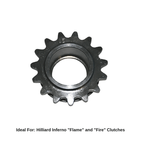 Hilliard Inferno Flame / Fire Drive Sprockets