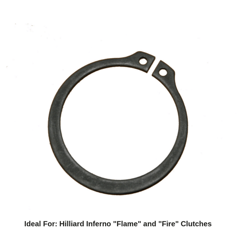 Hilliard Inferno Drive Sprocket Snap Ring (Flame / Fire)