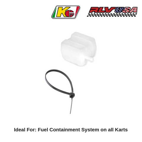 Fuel Catch can and Recovery for Go Kart