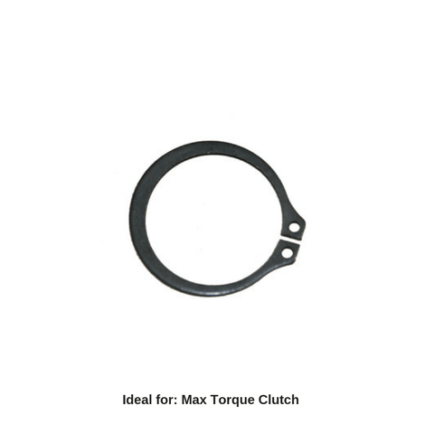 Max Torque Clutch Dust Cover Snap Ring