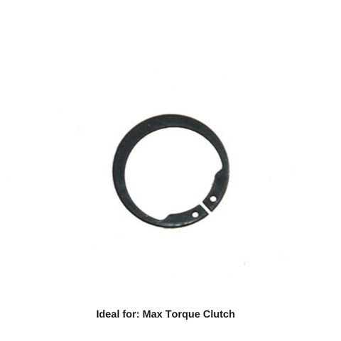 Max Torque Clutch Hub Snap Ring